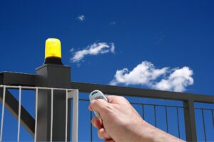 remote operated Houston automatic barrier gate